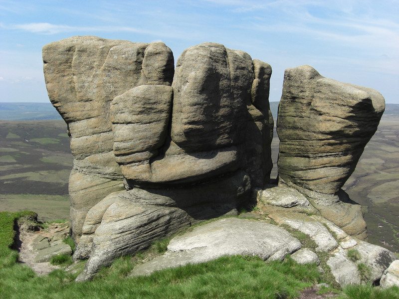 I just loved the shape of these rocks - like a natural Gaudi house