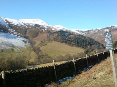 Kinder Scout in the snow, Feb 2010