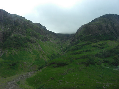 Atmosphere in Glencoe, seen from the LOROS bus