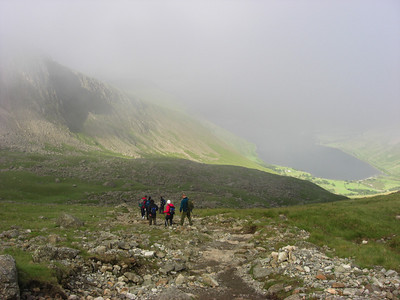 Descending towards Wasdale