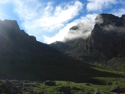 Scafell Pike, Mickledore and Scafell