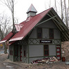 Piermont railroad station in the process of being restored.