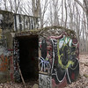 Tunnel entrance at the old rifle range in Blauvelt SP.