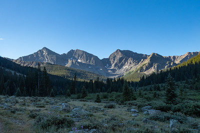 Early morning light on The Three Apostles (L-R:  North, Ice & West Apostle)