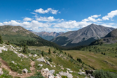 Mountain scenery - 14er Mt Huron on the right (we climbed it in 2012)