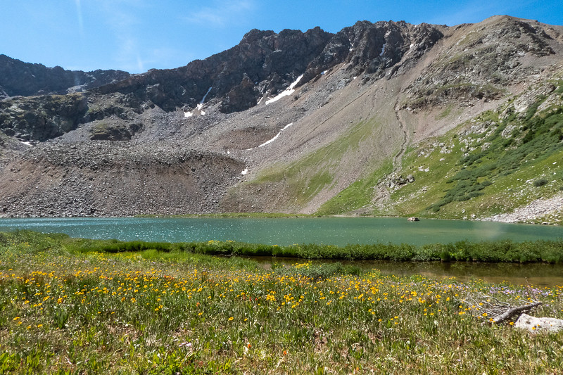 Lake Ann and Wildflowers