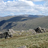 High Raise and the Hellvellyn Ridge from near Angle Tarn