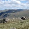High Raise and the Hellvellyn Ridge from near Angle Tarn