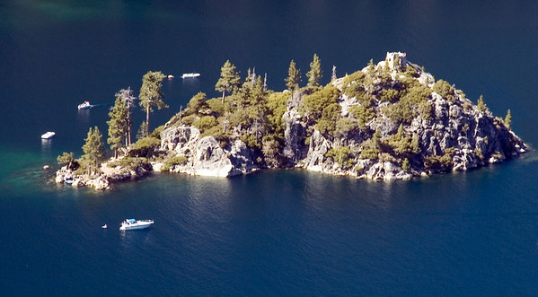 Fannette Island, with the Tea House on the upper right corner.
