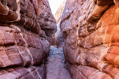 Slot Canyon near White Domes Loop