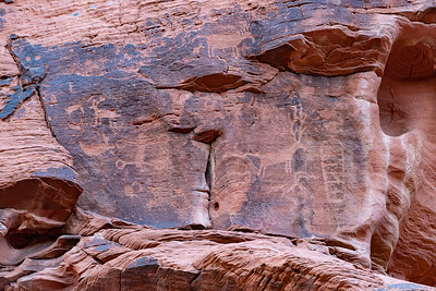 Another Petroglyph Panel