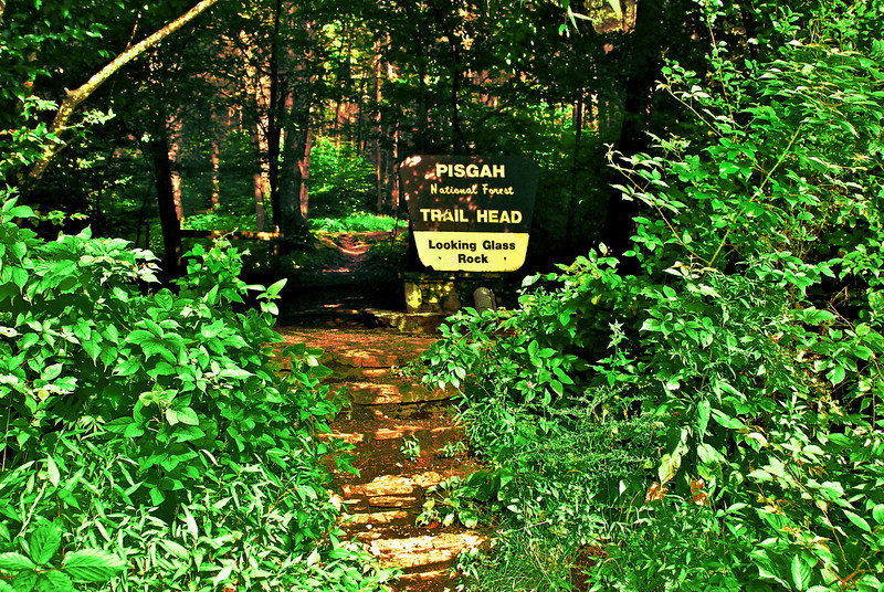 here we go to Looking Glass Rock