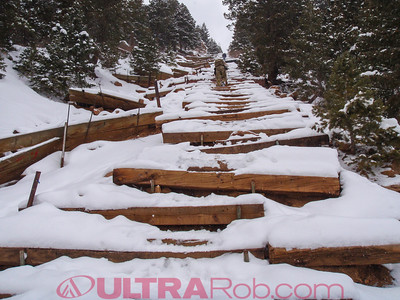 Barr Trail from Manitou Incline