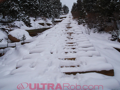 Top Section of Manitou Incline