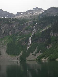 Big waterfall at Rainy Lake.
