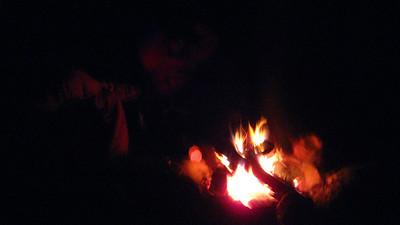 Fire on Saturday night.