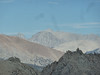 A zoom-in on Mt Whitney from Sawtooth Pass.