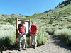 Larry and Travis carried part of my load up to Sawtooth Pass.