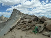 Sawtooth Peak from Sawtooth Pass.   It took 2.5 hours to climb and return.