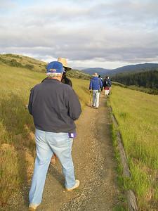 Monte Bello Ridge trail (Reinhard, Karin's friend)