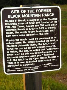 Black Mountain Ranch sign