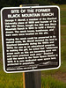 Black Mountain Ranch sign