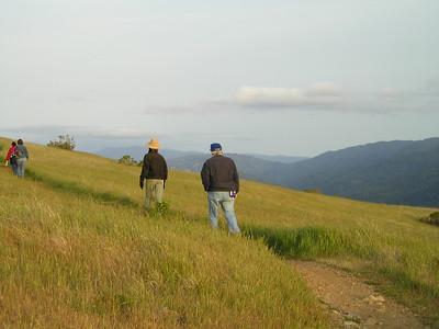 Monte Bello Ridge trail (Karin and Reinhard)