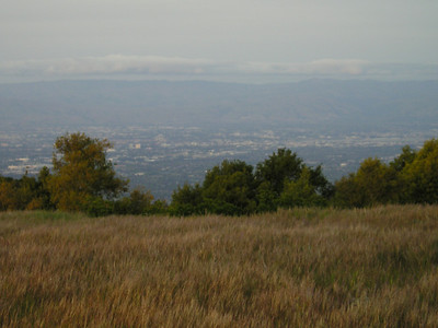 Silicon Valley from Black Mountain