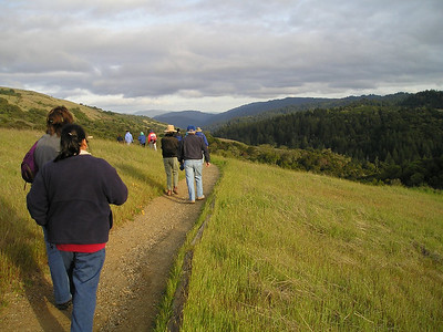 Monte Bello Ridge trail (Ruth, ?, Karin, Reinhard)
