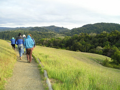 Monte Bello Ridge trail