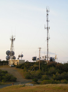 Black Mountain cell phone towers