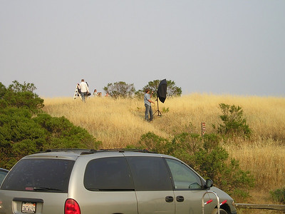 When we arrived, a photo team from Palo Alto Medical Group was shooting photos and flying kites.