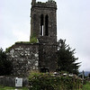 Ruins of Protestant church at Cloghane