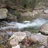 Slightly down stream waterfall