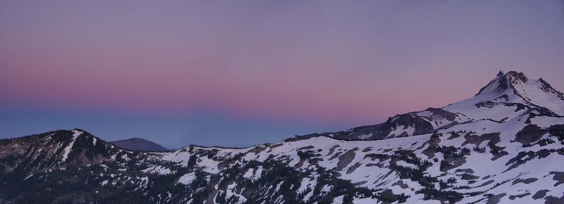 Mt. Jefferson Sunset Panoramic