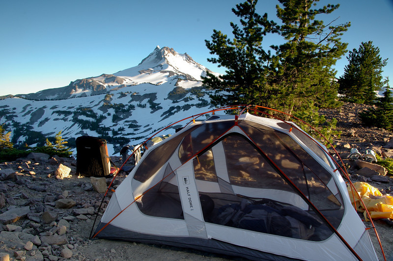 Ridge top camp