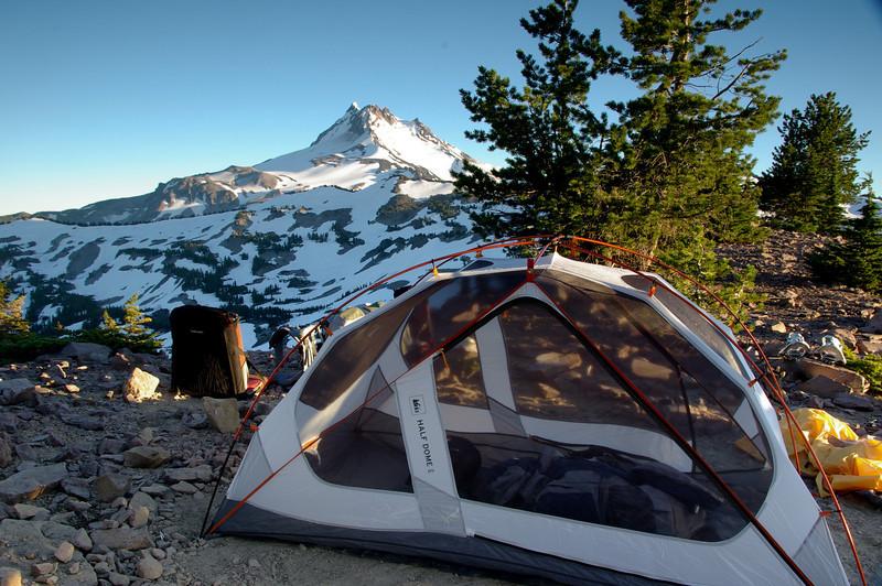Ridge top camp