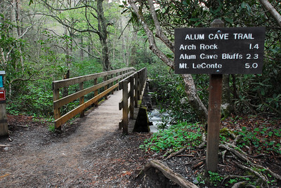 Mt. LeConte by Alum Cave Trail