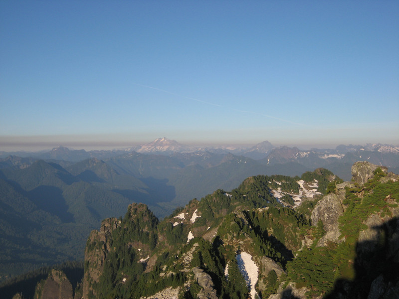 Glacier Peak in the East