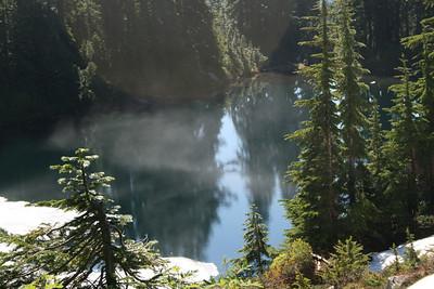 Ridge Lake. And stupid sunspot.