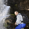 Scott behind Martins Creek Falls