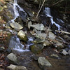 Barnes Creek Falls in the Cohutta WMA within the Chattahoochee National Forest.