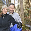 2013-01-05<br /> Us by Bear Creek, just after eating lunch.