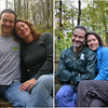 2013-11-02<br /> Photo on right was taken on April 2009, our first hike to his park together. Second photo was taken today.