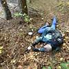 Watching Scott photograph the pretty mushrooms