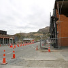 There is a lot of construction work going on in Lyttelton (Christchurch suburb) because of the 2011 earthquake.