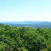 Panoramic view from the Jessup Trail.