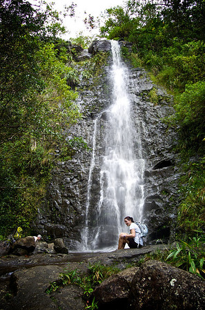 Ka'au Waterfall No. 2