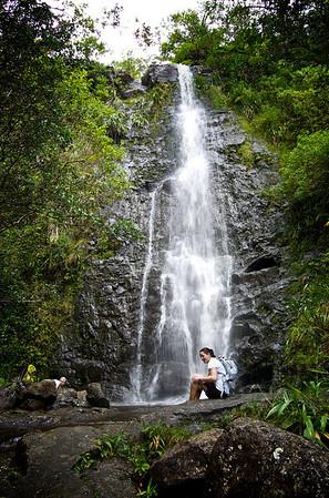 Ka'au Waterfall No. 2
