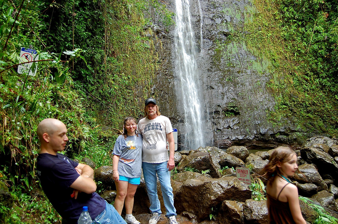 Manoa Waterfall - My parents visit '09